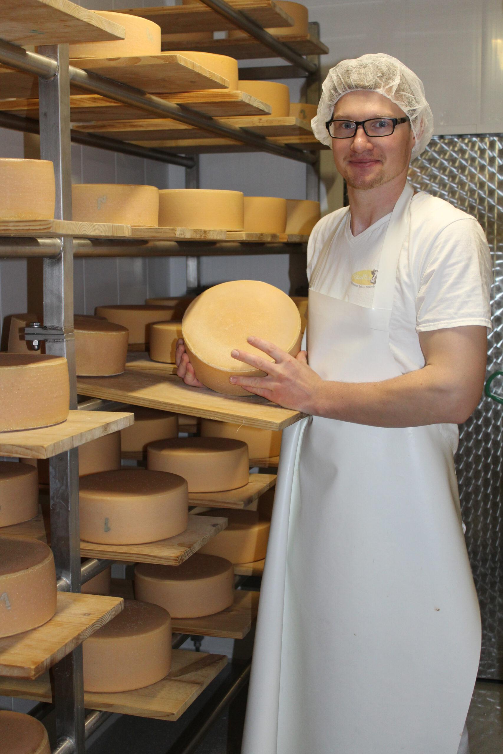 KäseMax beim Käsen